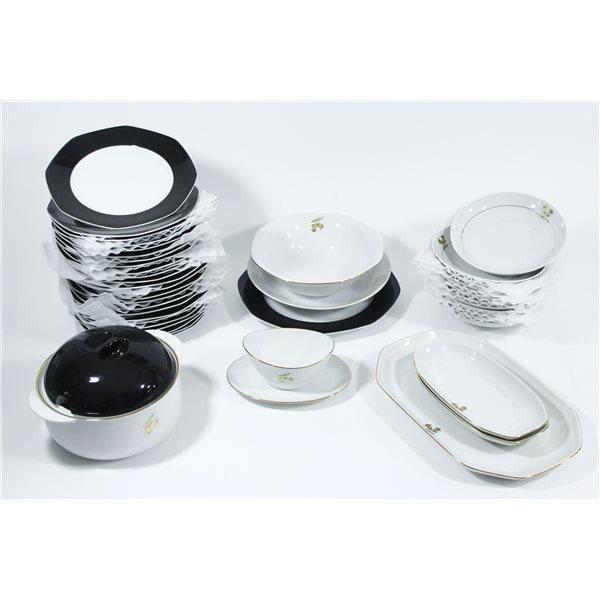 Service De Table Vaisselle En Porcelaine De Bav Achat