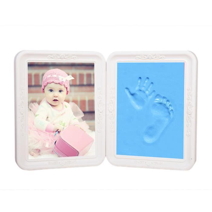 cadre pour photo pliant b 233 b 233 1 empreintes de et de pied baby naissance souvenir cadeau
