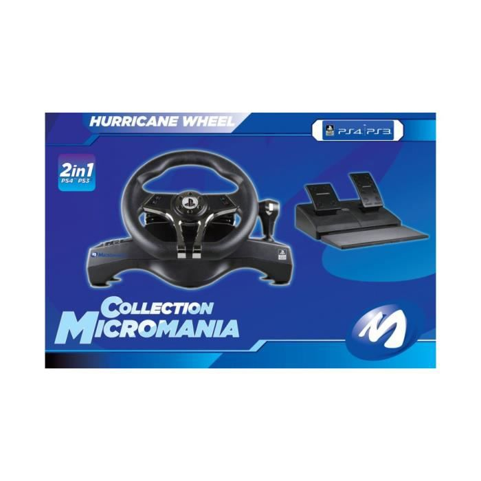 VOLANT PS4 Micromania Collection