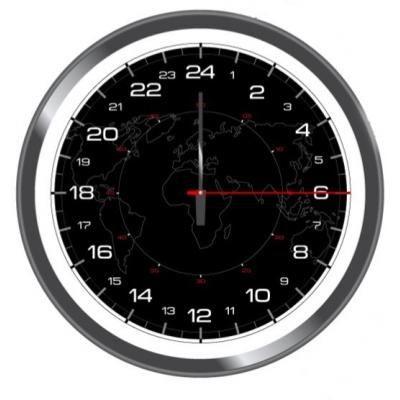 horloge 24h achat vente horloge cdiscount. Black Bedroom Furniture Sets. Home Design Ideas