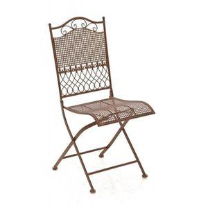 Chaises de jardin en fer forge achat vente chaises de for Chaise en fer forge pas cher