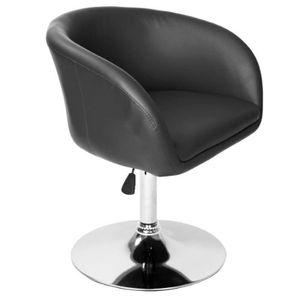 FAUTEUIL Fauteuil chaise siège lounge design pivotant régla