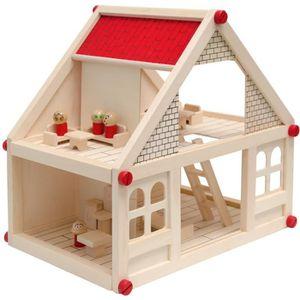 maison de poup 233 es en bois achat vente maison de poup 233 es en bois pas cher soldes cdiscount