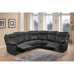 Canape relax manuel achat vente canape relax manuel - Canape d angle avec relax ...