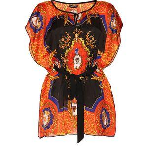 tunique miss wear line tunique noir pour femme avec impr - Tunique Colore Femme