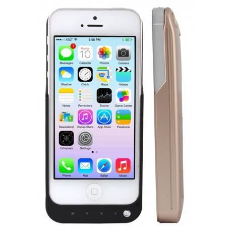 coque iphone 5 5s or batterie rechargeable or achat. Black Bedroom Furniture Sets. Home Design Ideas