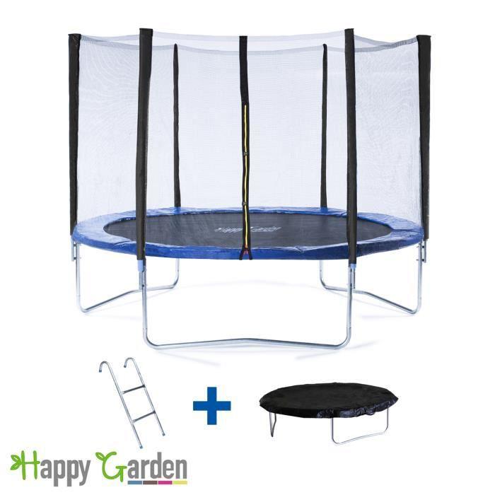 trampoline 180cm avec filet chelle et b che achat vente trampoline cdiscount. Black Bedroom Furniture Sets. Home Design Ideas
