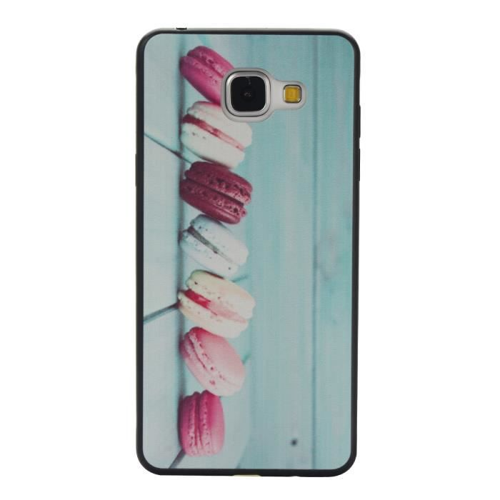 coque samsung galaxy a3 2016 sm a310 housse etui protection silicone tpu bleu style t l phone. Black Bedroom Furniture Sets. Home Design Ideas