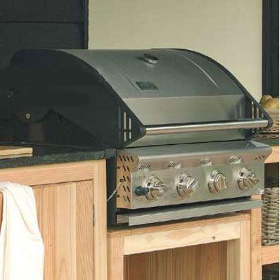 barbecue gaz inox 4 feux achat vente barbecue barbecue gaz inox 4 feux soldes d t cdiscount. Black Bedroom Furniture Sets. Home Design Ideas