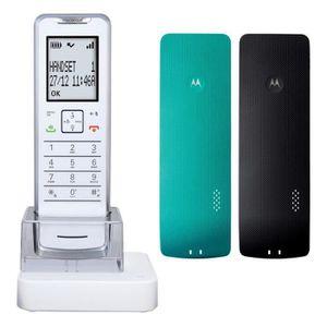 Téléphone fixe MOTOROLA IT.6.1X Blanc