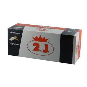 TUBE À CIGARETTE Lot de 8 boites de 250 tubes a cigarettes 2J