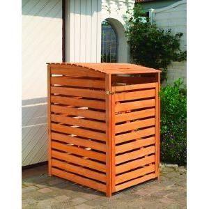 realiser un cache poubelle exterieur. Black Bedroom Furniture Sets. Home Design Ideas