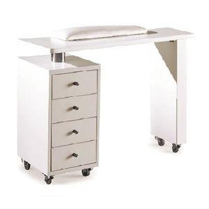 table manucure achat vente table manucure pas cher les soldes sur cdiscount cdiscount. Black Bedroom Furniture Sets. Home Design Ideas