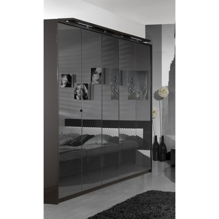 Object moved - Armoire chambre avec miroir ...