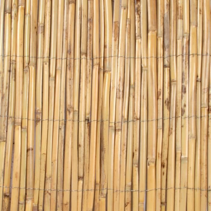 Canisse roseau fendu 1 5x5m achat vente cl ture grillage canisse roseau fendu 1 5x5m for Cloture jardin roseau