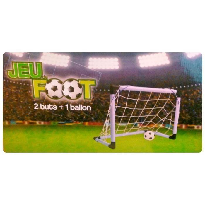 jeu de foot 2 buts 1 ballon achat vente balle boule ballon cdiscount. Black Bedroom Furniture Sets. Home Design Ideas