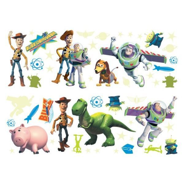 Stickers muraux toy story