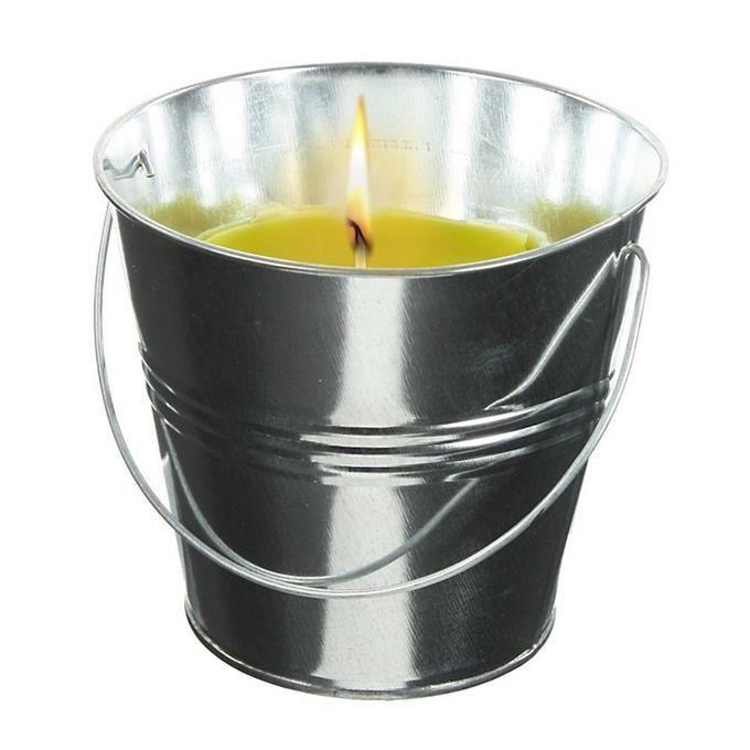 1 bougie en pot citronnelle 6 x 5 8 cm deco achat vente bougie 1 bougie en pot citronnelle. Black Bedroom Furniture Sets. Home Design Ideas