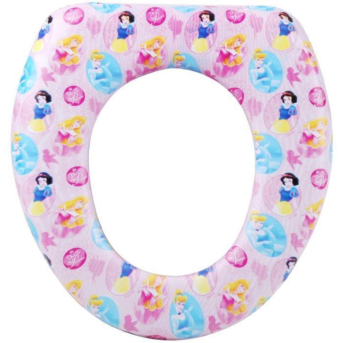 R ducteur abattant toilette wc enfant disney princesse rose achat vente abattant wc - Abattant wc taille non standard ...