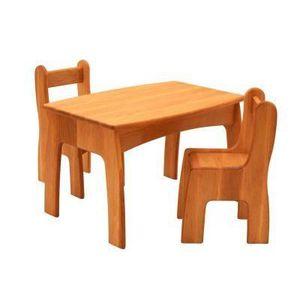 Mini table et chaise pour enfant achat vente jeux et jouets pas chers Chaise pour table en bois