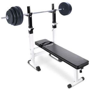 banc de musculation avec poids achat vente pas cher cdiscount. Black Bedroom Furniture Sets. Home Design Ideas