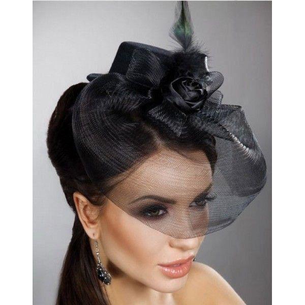 mini chapeau noir avec voile noir achat vente chapeau bob 2009940537551 cdiscount. Black Bedroom Furniture Sets. Home Design Ideas
