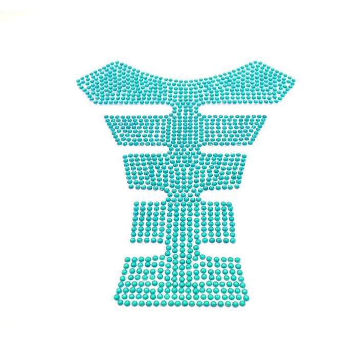 lettres adh sives strass turquoise achat vente. Black Bedroom Furniture Sets. Home Design Ideas