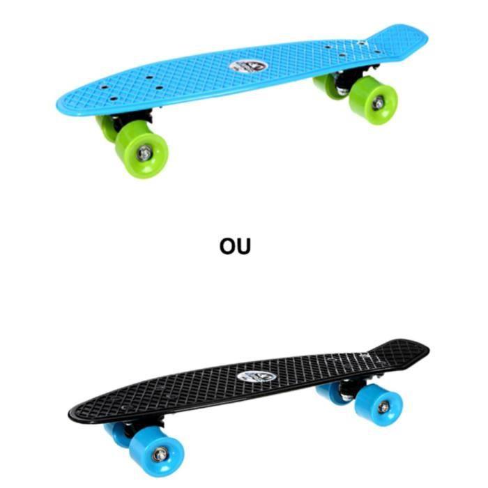 Skateboard de couleur enfant bleu ou noir achat vente - Couleur bleu ou bleue ...