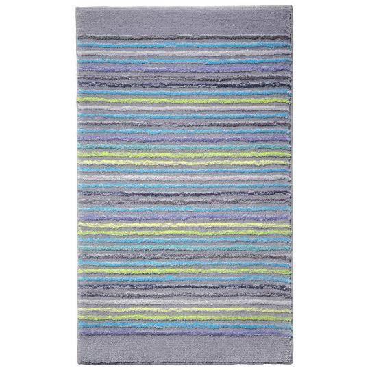 Tapis tapis de salle de bain cool stripes gris achat - Tapis salle de bain gris ...
