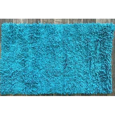 tapis salle de bain m che turquoise achat vente tapis bain cdiscount. Black Bedroom Furniture Sets. Home Design Ideas