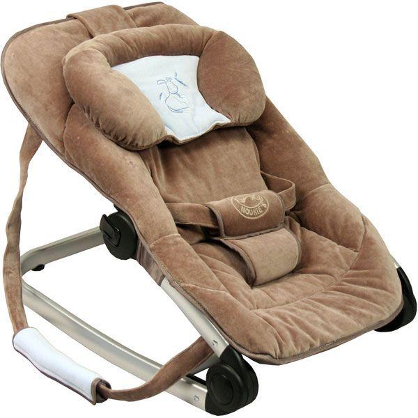 transat bebe evolutif noukies paco marron fonce achat vente transat balancelle transat. Black Bedroom Furniture Sets. Home Design Ideas