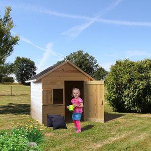 Maison enfant achat vente pas cher cdiscount - Maison cabane en bois ...