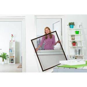 moustiquaire fenetre cadre fixe achat vente moustiquaire fenetre cadre fixe pas cher cdiscount. Black Bedroom Furniture Sets. Home Design Ideas