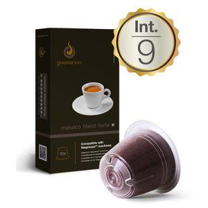 CAFÉ - CHICORÉE Messico Blend Forte - Capsules de café compatibles