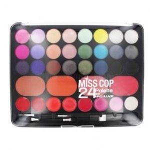 Miss cop palette de maquillage 24 couleurs ac achat - Palette maquillage aimantee ...
