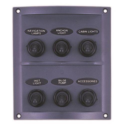tableau lectrique tanche modele 6 interrupteurs prix. Black Bedroom Furniture Sets. Home Design Ideas