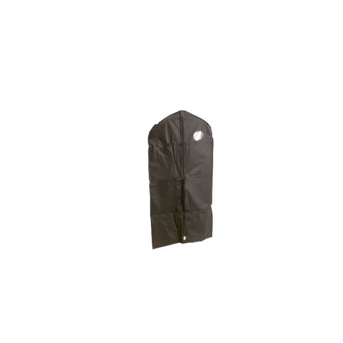 Housse pour v tements noir avec zip 60 x 160 cm achat - Housse pour vetements ...
