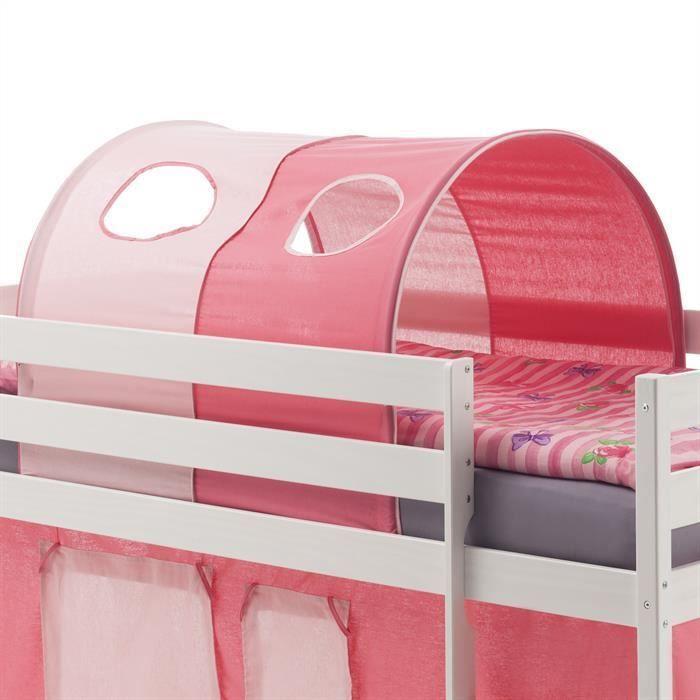 tunnel max pour lit sur lev rose achat vente pi ce. Black Bedroom Furniture Sets. Home Design Ideas
