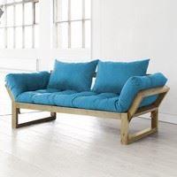 Canap futon et bois miel design edge karup achat for Bois et chiffons canape