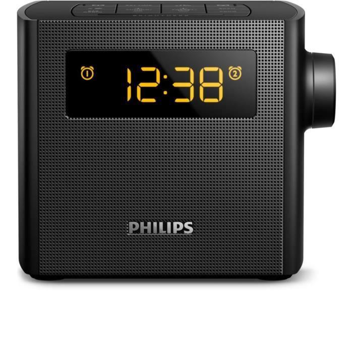 PHILIPS AJ4300B RADIO RÉVEIL DOUBLE ALARME TUNER NUMÉRIQUE ...