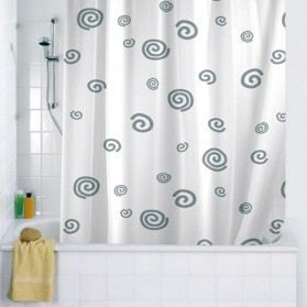 rideau de douche textile escargot 180x200 cm achat. Black Bedroom Furniture Sets. Home Design Ideas