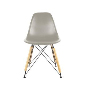 Chaise metal grise achat vente chaise metal grise pas for Chaise grise bois