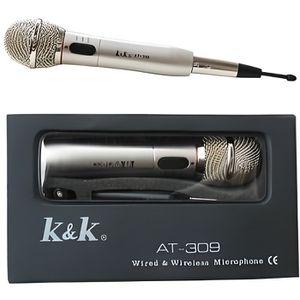 MICROPHONE - ACCESSOIRE Microphone K&K AT-309 avec ou sans fil