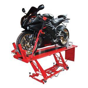 ORGANISATION ATELIER Table élevatrice - Pont pour moto et scooter