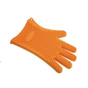 gant de cuisine en silicone finger orange achat vente gants de cuisine soldes d t cdiscount. Black Bedroom Furniture Sets. Home Design Ideas