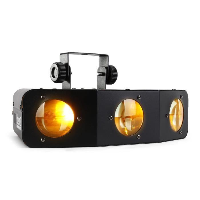 beamz led tri eye effet de lumi re led rgbaw dmx lampe et spot de sc ne avis et prix pas cher. Black Bedroom Furniture Sets. Home Design Ideas