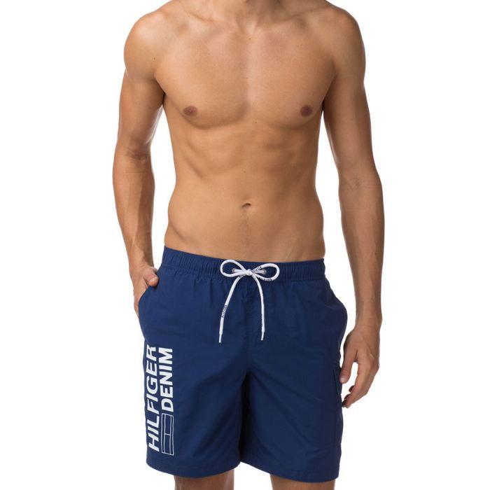 short maillot de bain tommy hilf bleu achat vente maillot de bain short maillot de bain. Black Bedroom Furniture Sets. Home Design Ideas