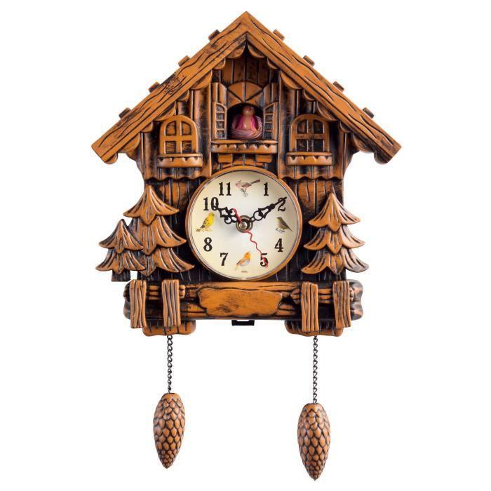 horloge coucou achat vente horloge cdiscount. Black Bedroom Furniture Sets. Home Design Ideas