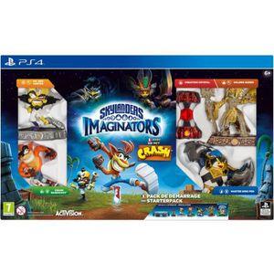 JEU PS4 Pack de démarrage Skylanders Imaginators Crash Ban