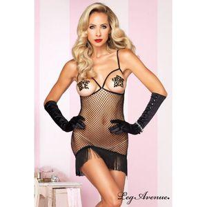 ROBE SEXY Robe lingerie  Ton Poison Leg Av…